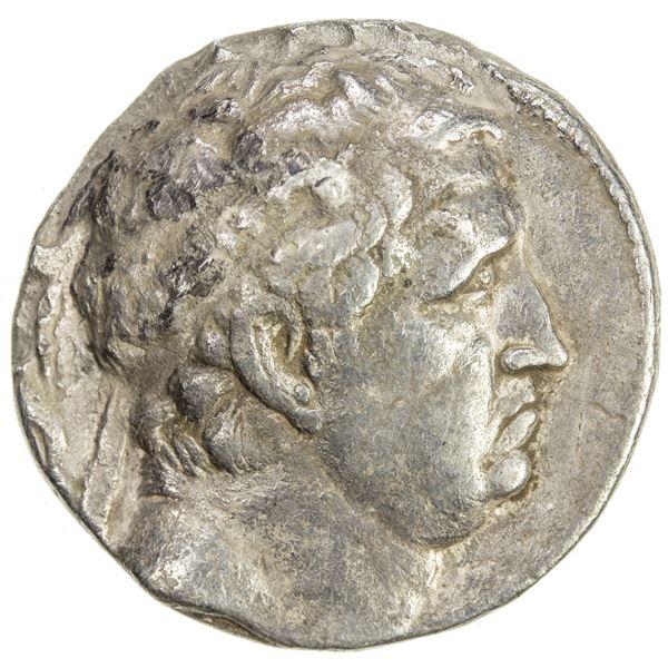 INDO-GREEK: Euthydemos I, ca. 230-200 BC, AR tetradrachm (16.04g). F