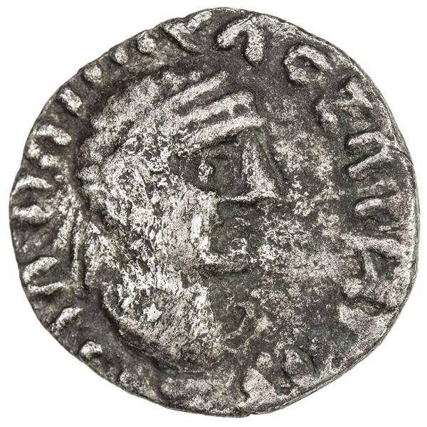 INDO-SCYTHIAN SATRAPS: Bhadrayasha, ca. 100 AD, AR drachm (2.10g). VF-EF