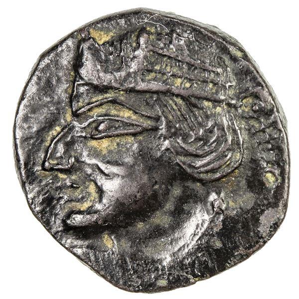 PARATARAJAS: Koziya b. Kozana, ca. 235-265, AE unit (1.97g). AU