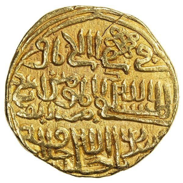 DELHI: Muhammad III, 1325-1351, AV tanka (11.13g), Delhi, AH742. VF