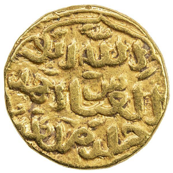 DELHI: Muhammad III, 1325-1351, AV tanka (11.01g), NM, ND. VF