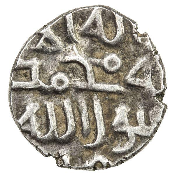 GHAZNAVID AT MULTAN: Mahmud, 1005, 1011-1030, AR damma (0.43g). EF