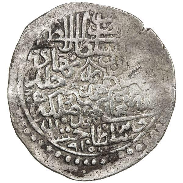 MUGHAL: Babur, 1504-1530, AR shahrukhi (4.50g), Badakhshan, AH915. F-VF