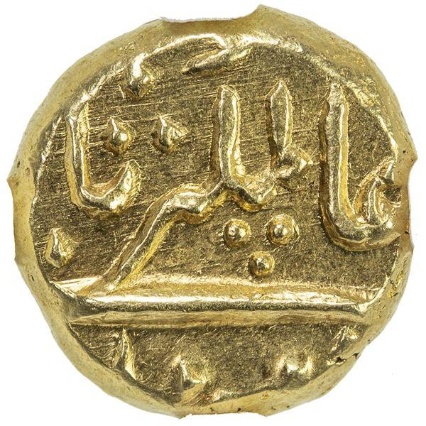 MUGHAL: Alamgir II, 1754-1759, AV pagoda, Imtiyazgarh, DM. NGC MS64