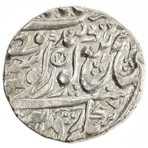 SIKH EMPIRE: AR rupee (11.08g), Amritsar, VS1862. VF-EF