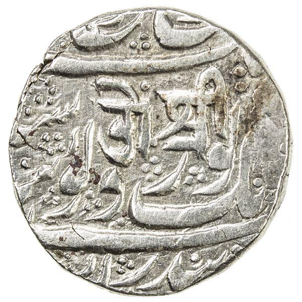 SIKH EMPIRE: AR rupee (10.96g), Kashmir, VS(1879). VF