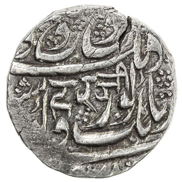SIKH EMPIRE: AR rupee (10.95g), Kashmir, VS1879. EF