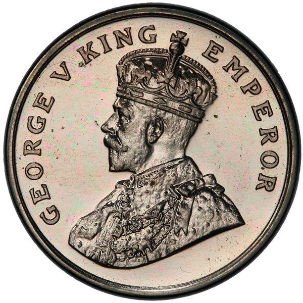 BRITISH INDIA: George V, 1910-1936, 8 annas, 1920(c). PCGS PF63