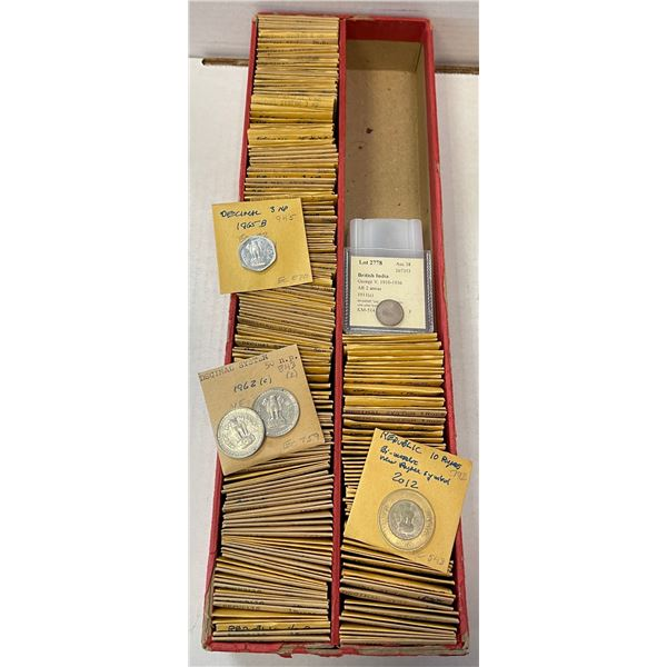 INDIA: LOT of 290 coins