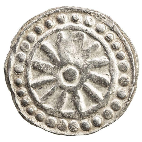 BURMESE KINGDOMS: AR unit (9.37g), ca. late 8th century. VF