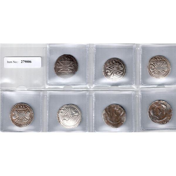 HALIN: LOT of 7 silver units