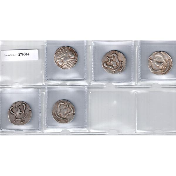 HALIN: LOT of 5 silver units