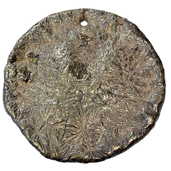 BURMA: AR willow leaf ingot (53.74g). EF