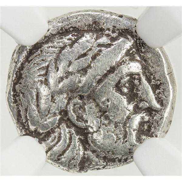 SELEUKID KINGDOM: Seleukos I Nikator, 312-281 BC, AR hemidrachm (2.32g), Seleukeia on the Tigris II.