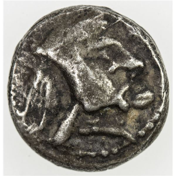PERSIS KINGDOM: Vahbarz, 3rd century BC, AR obol (0.84g). VF