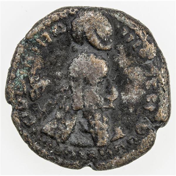 SASANIAN KINGDOM: Ardashir I, 224-241, AE pashiz (2.50g). VF