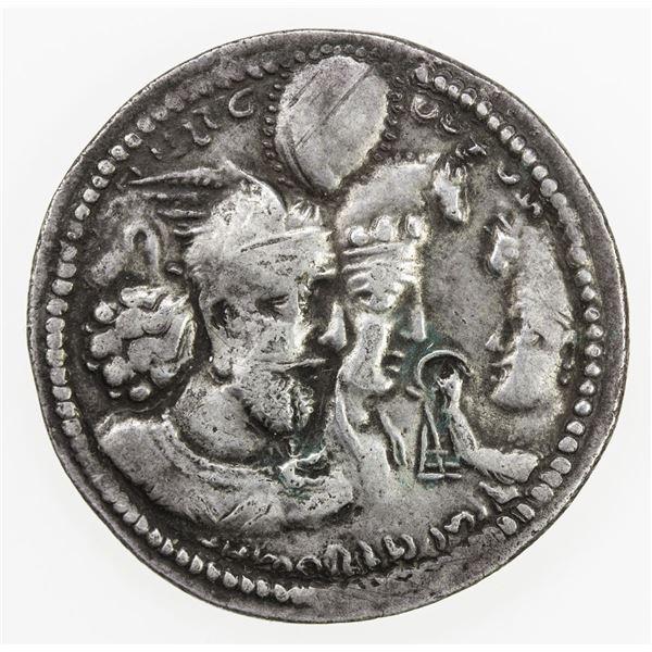 SASANIAN KINGDOM: Varhran II, 276-293, AR drachm (4.20g). VF