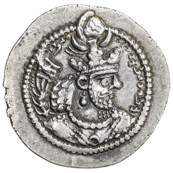 SASANIAN KINGDOM: Yazdigerd II, 438-457, AR drachm (4.00g). EF