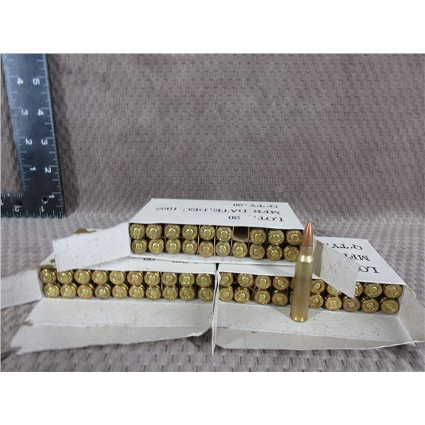5.56 Ball Ammo 3 Boxes of 20