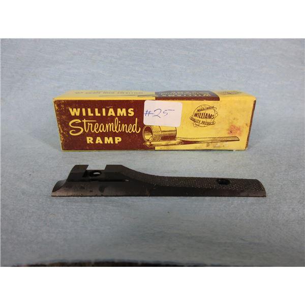 Williams Streamlined Sight Ramp 5/16 Sweat On