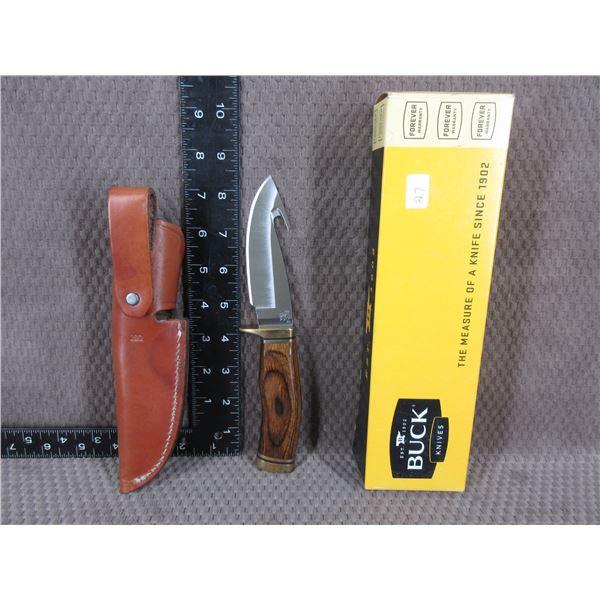Buck Model 191 Zipper with Sheath - Appears Unused