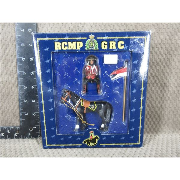 RCMP/GRC Musical Ride, Horse, Officer and Flag #60035