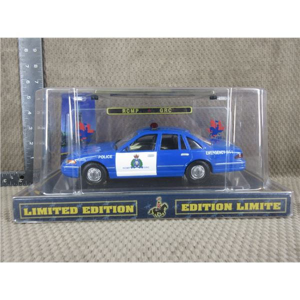 RCMP/GRC Limited Edition 1-24 Scale Police Car
