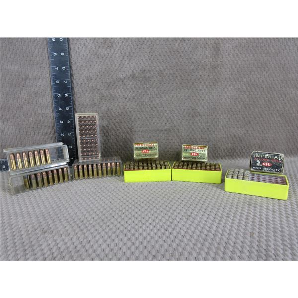22 Imperial Long Rifle 4 Boxes of 50 & 3 Part Boxes