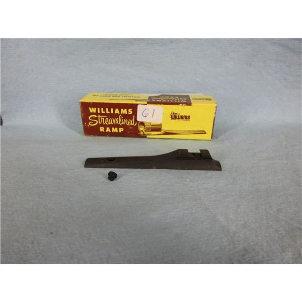 Williams Streamlined Sight Ramp 5/16 Screw On