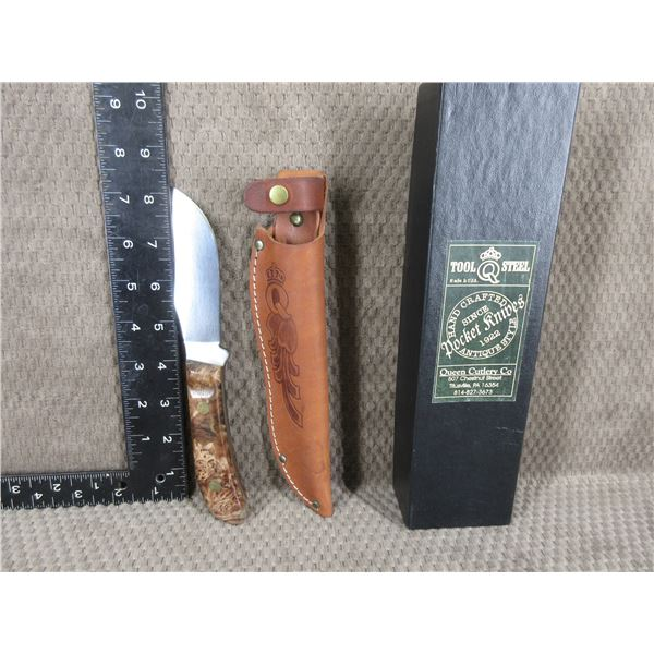 Queen Cutlery Model 4190 GMB PH-D2 with Sheath
