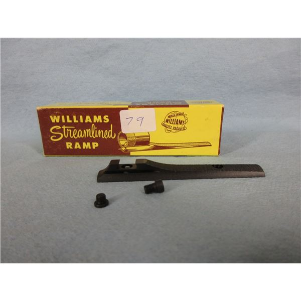 Williams Streamlined Sight Ramp 3/16 Screw On