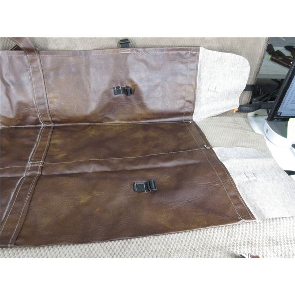 Brown Leatherette Gun Case 3 Case in 1 Custon Made New