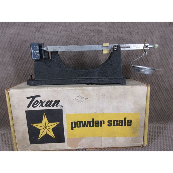 Texan Powder Scale
