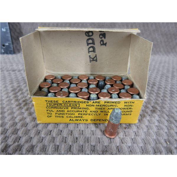 32 Short Rimfire, 82 gr, Lead, Dominion - Box of 50