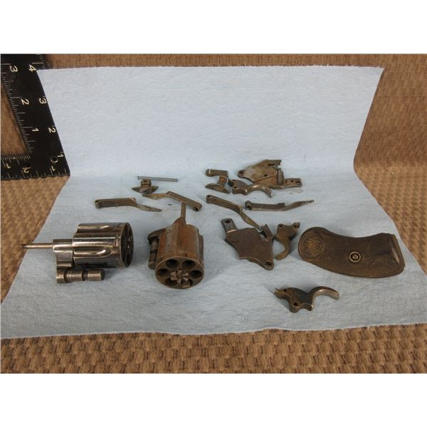 """Colt """"D"""" Frame in 32 S&W Parts"""
