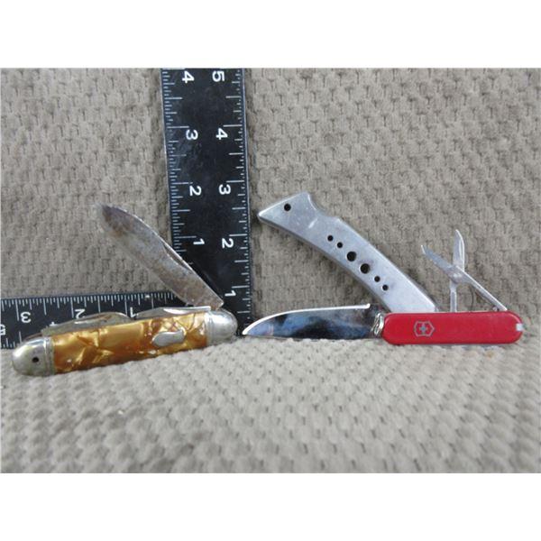 3 Jack Knives