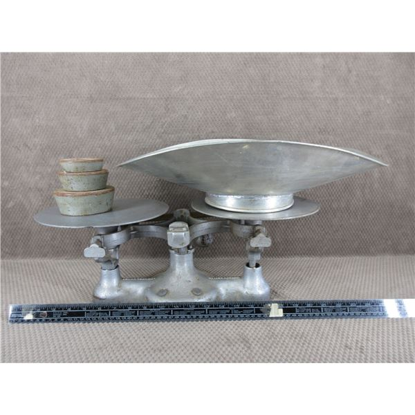 Vintage Detecto No. 2 Weigh Scale with Weights