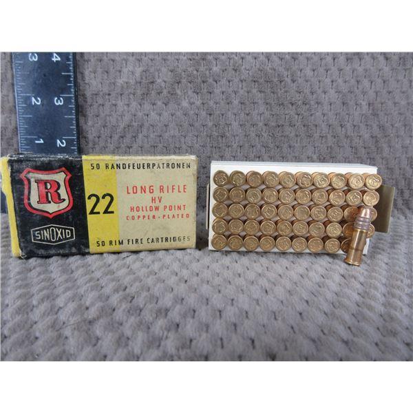Dynamit-Nobel Nuernberg 22 Long Rifle Hollow Point - Full