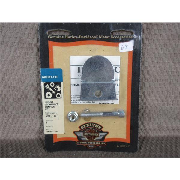 Harley DavidsonChrome Lockholder Adaptor kit 46521-99
