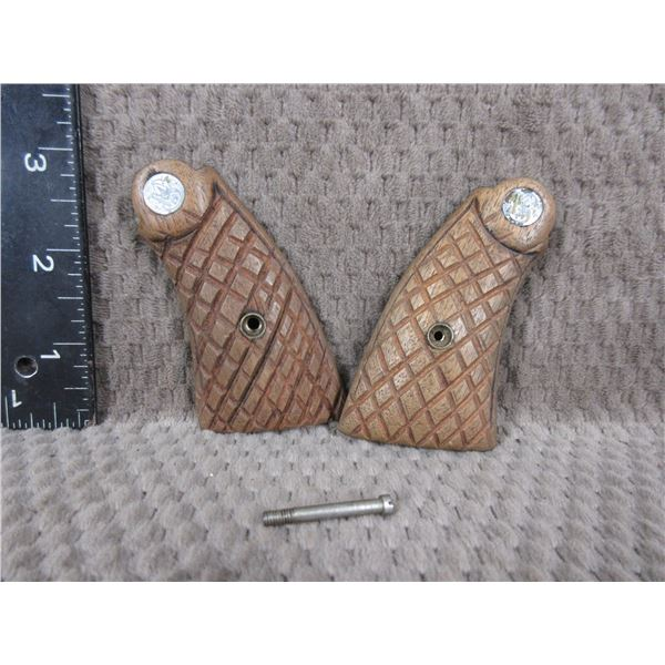 Smith & Wesson Wood Grips with Screw