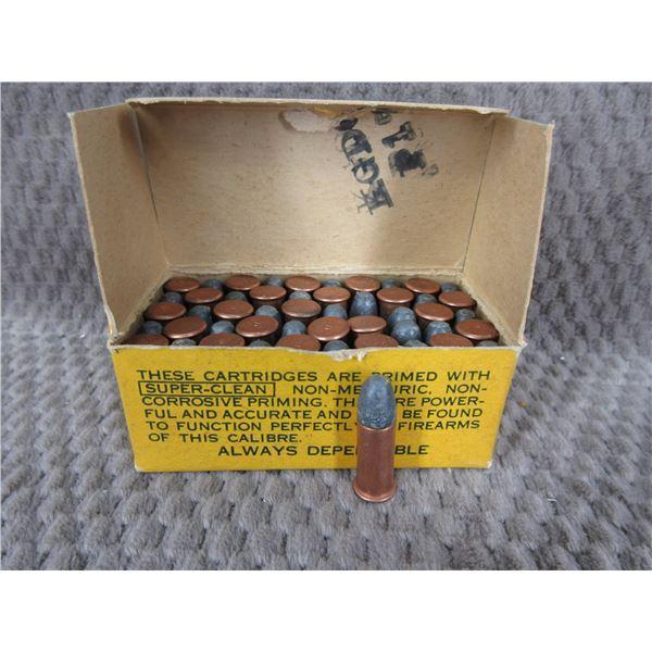 32 Long Rimfire, 90 gr, Lead, Dominion - Box of 50
