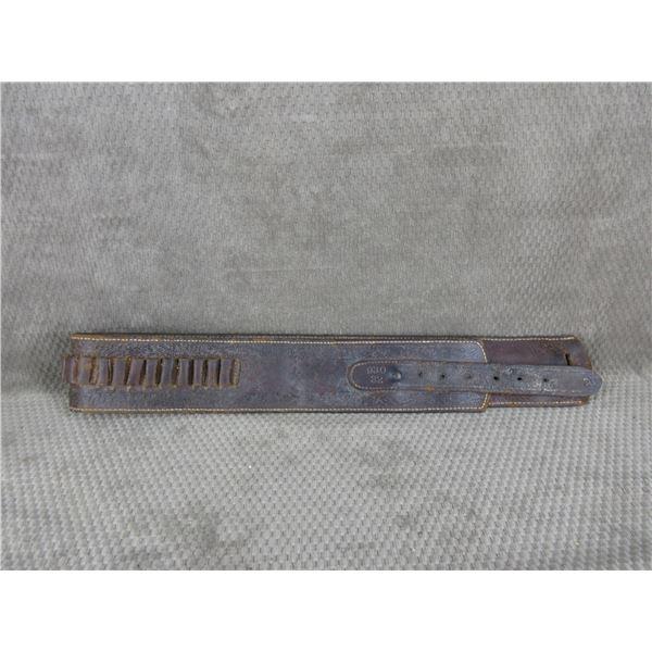 Vintage Leather Ammunition Belt #'s 930 32