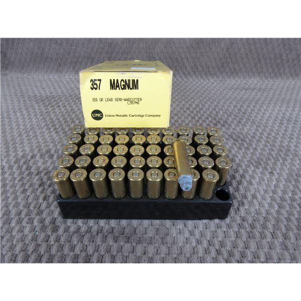 357 Magunm, 158 gr, Lead SW, UMC - Box of 50