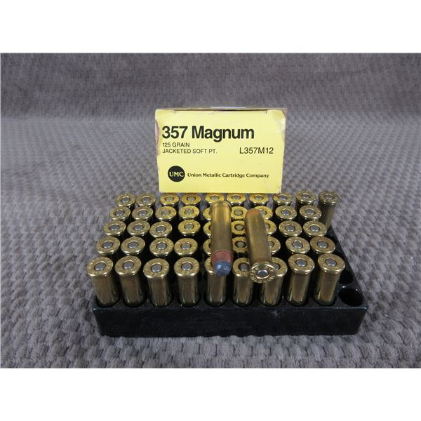 357 Magunm, 125 gr, JSP, UMC - Box of 48