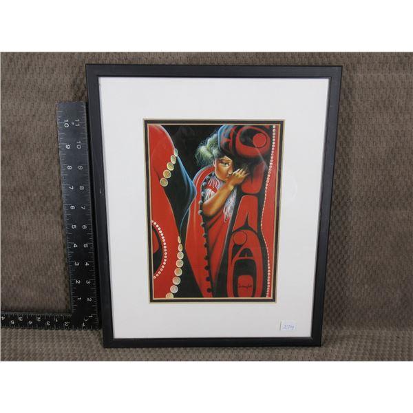Indigenous Art Print by Darleene Gait