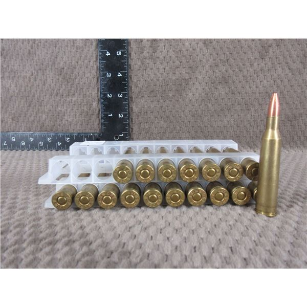 220 Swift - 18 Rounds - Reloads sold as componets