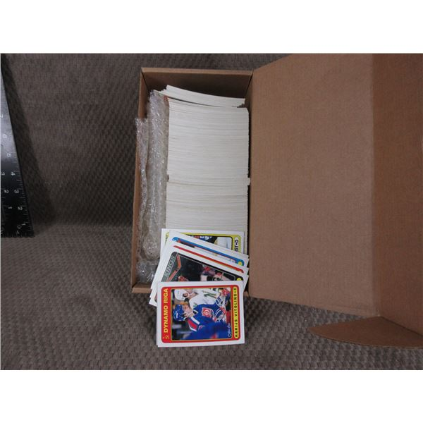 Box of O-Pee-Chee Premier 1990/1991 Full Set