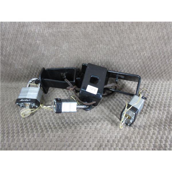 3 Marlin Lever Gun Locks - All Same Key with 3 Keys
