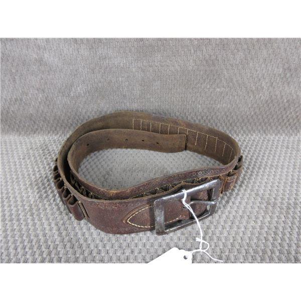 Vintage Leather Ammunition Belt
