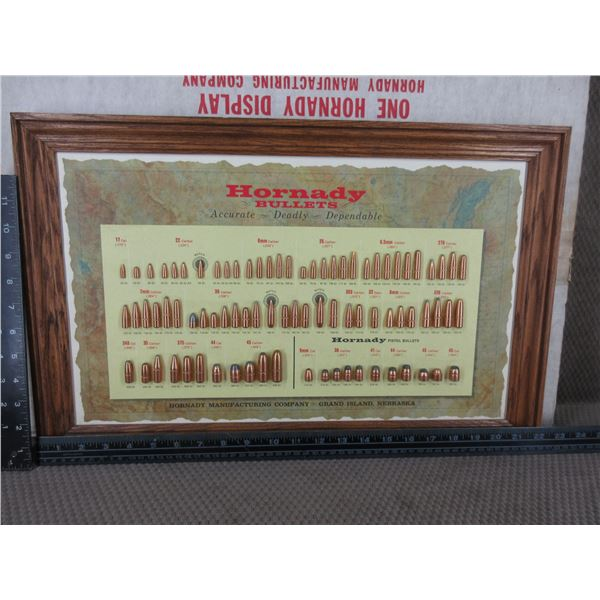 Hornady Bullet Board with Original Packing Box